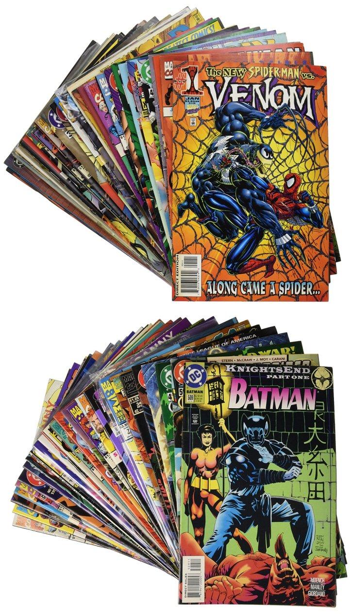 50 Comics Good Condition! (various distributors) – Paperback