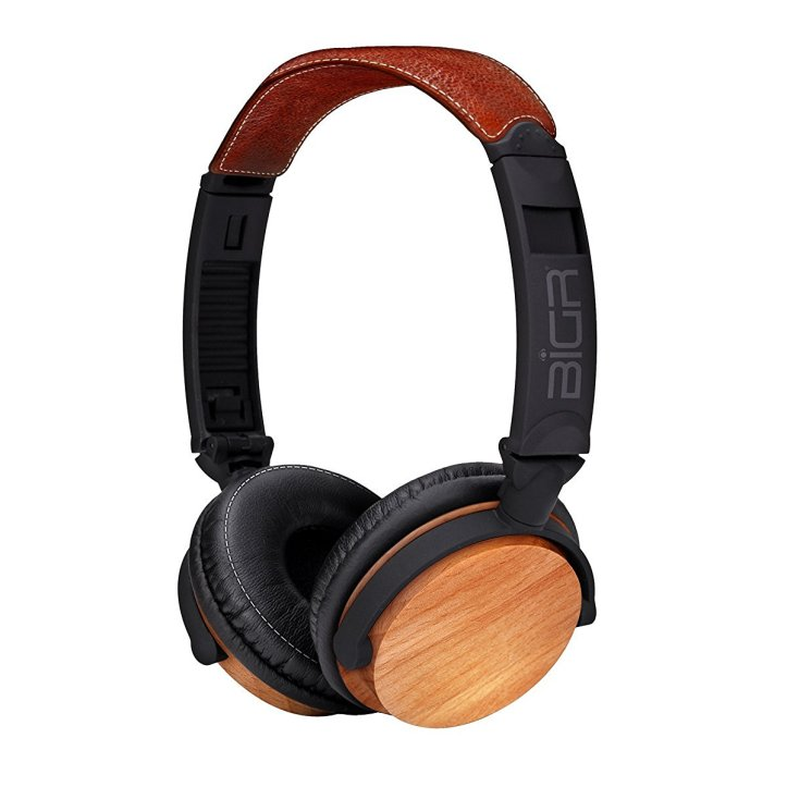 BiGR Audio Wood Over-Ear Headphones