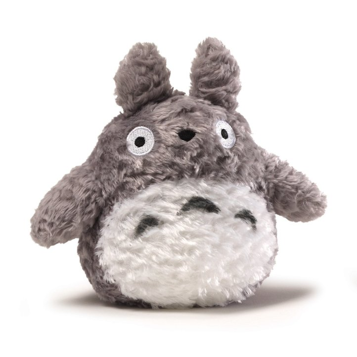Fluffy Totoro Plush