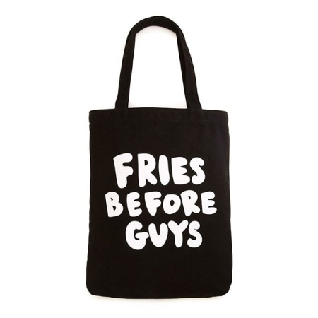 Ban.do Canvas Fries Before Guys Tote, Multicolor