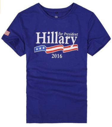 Hillary Clinton For President 2016 T Shirt