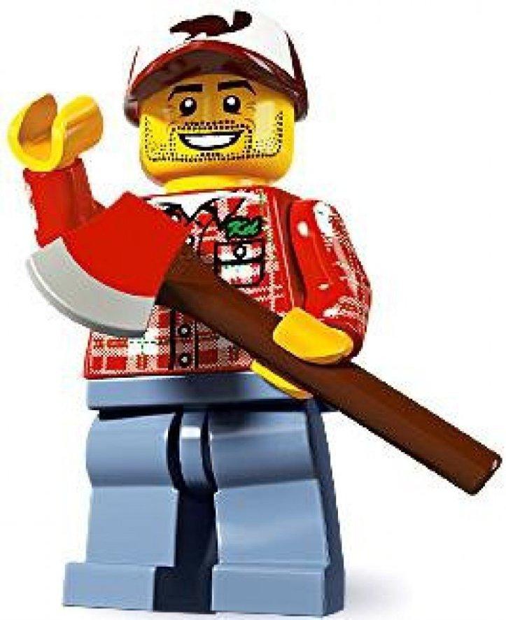 Lego Minifigures Series 5 - Lumberjack