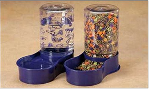 Lixit Rabbit Feeder/Water Fountain