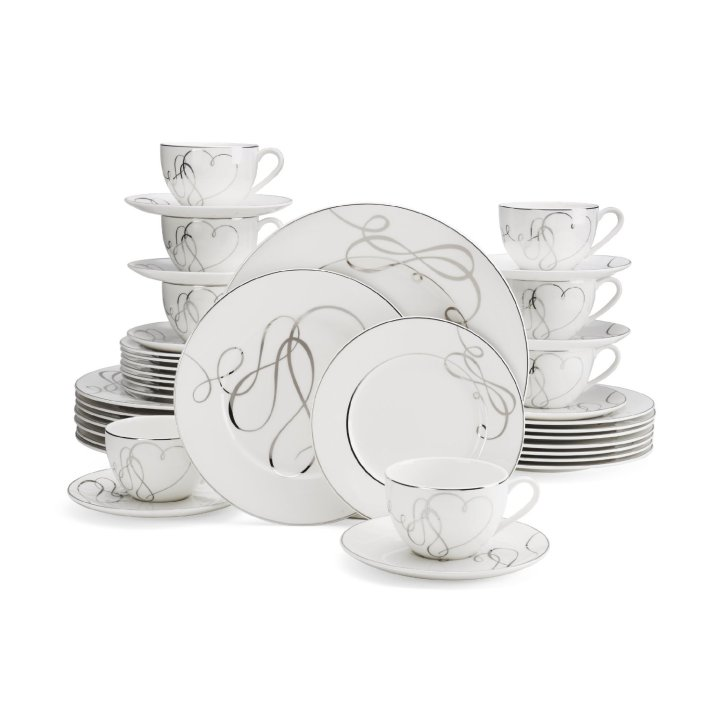 Mikasa Love Story 40-Piece Dinnerware Set