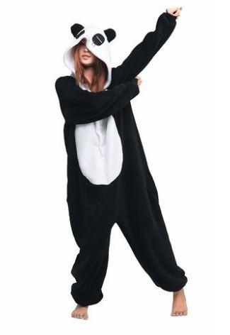 Pajamas Panda Onesie