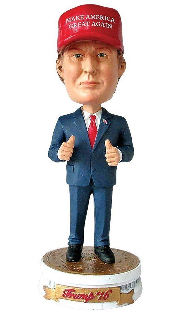 PLAN P2 PROMOTIONS Donald Trump Bobblehead, Make America Great Again
