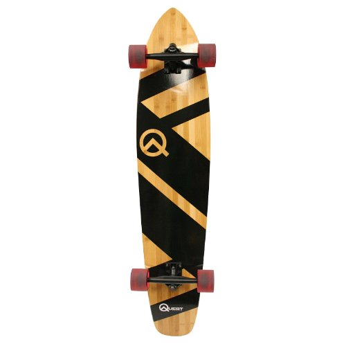 Quest Skateboards Super Cruiser Longboard Skateboard