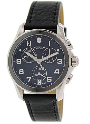 74% Off! Victorinox Swiss Army Chrono Classic Black Ceramic Bezel Mens Watch 241545