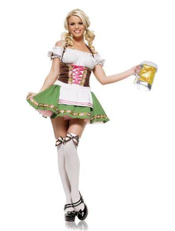 Gretchen/Beer Garden Girl Costume